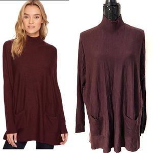 Romeo and Juliet mock turtle neck sweater